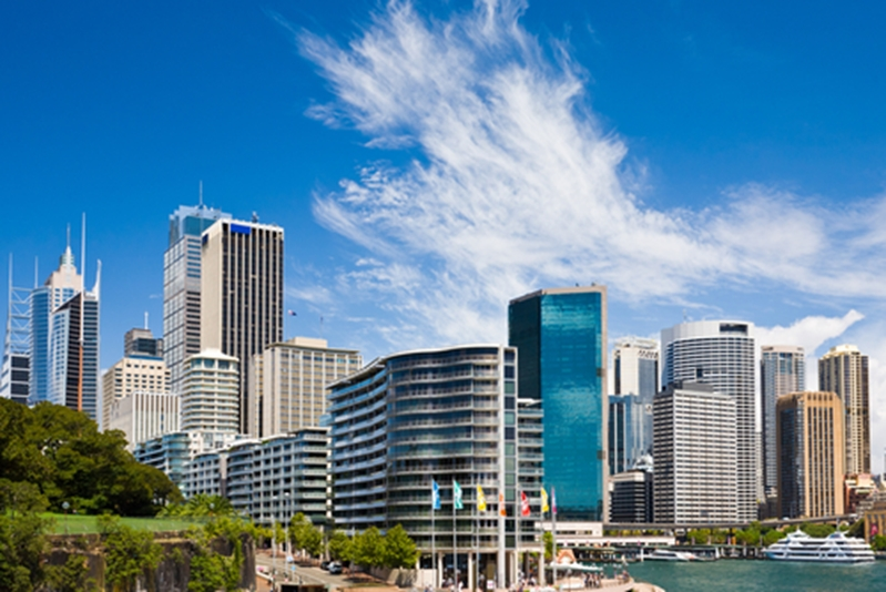 The Sydney CBD is a hub for commercial investment.