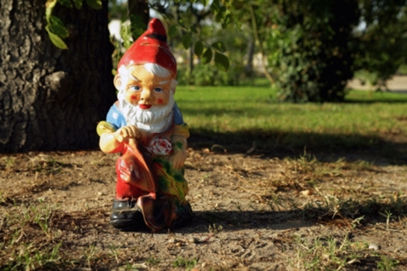 Garden gnomes, surprisingly, popped up on a list of desirable home features.